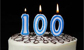 100. szülinap