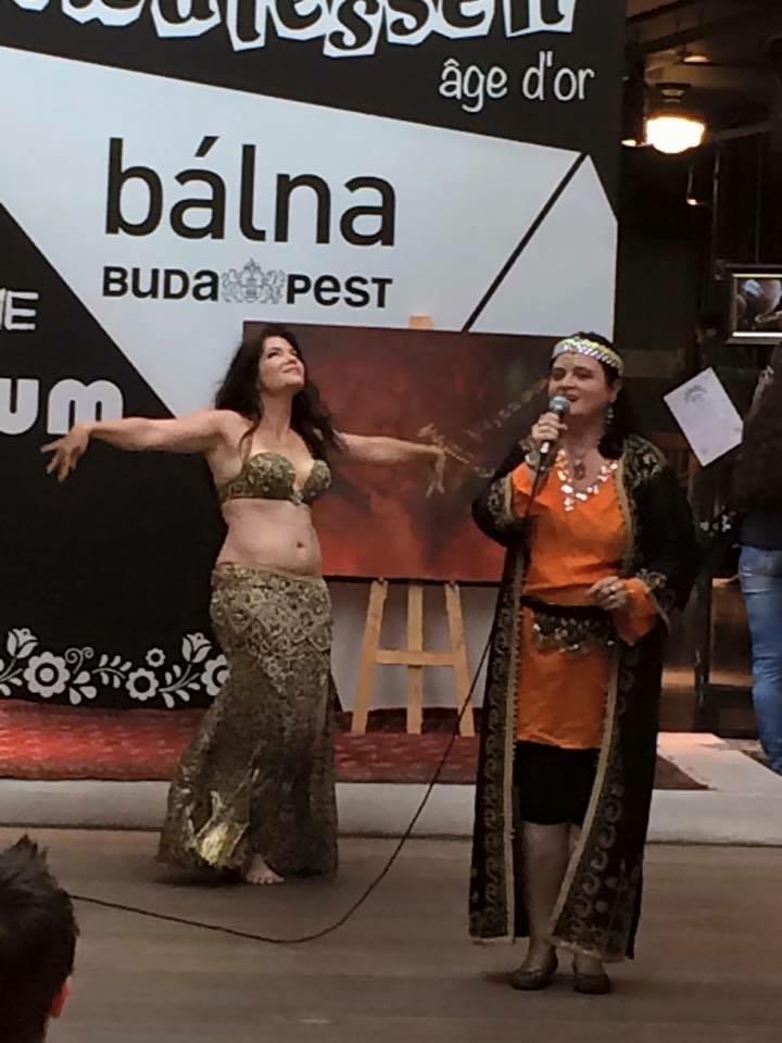 Fellépés a Bálnában: Kovács Gémes Julianna Keletvarázs műsora