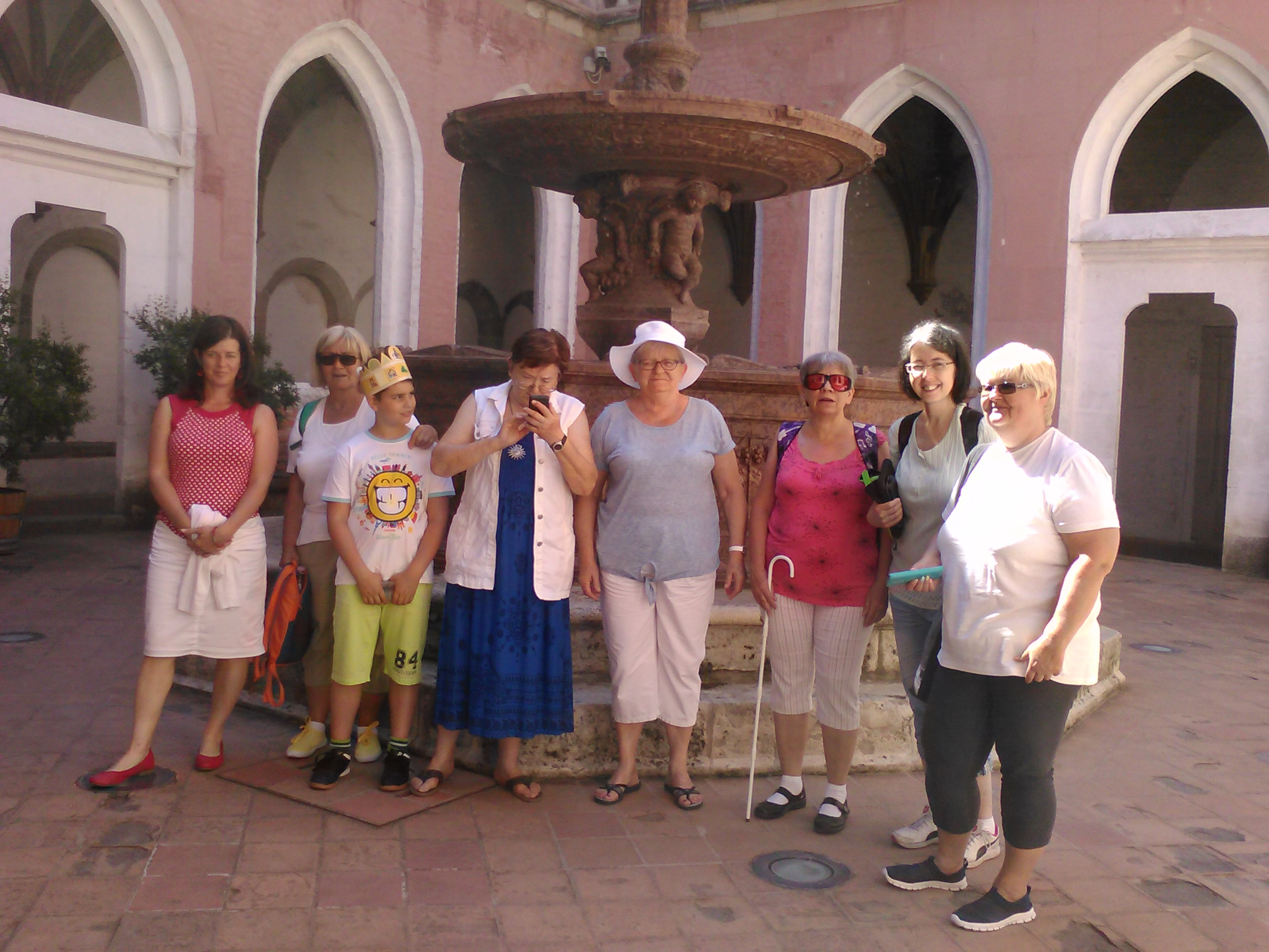 az újpesti kirándulók Visegrádon