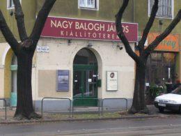 a képen: Nagy Balogh János Kiállítóterem látható