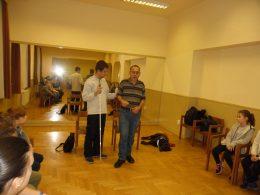 A képen Acsay Peti és Tanai Csaba látható