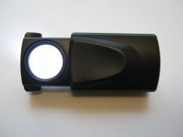 LED világítással ellátott, műanyag házas nagyító