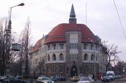 A képen a kispesti Kapitányság épülete látható