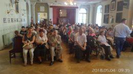 A Közgyűlés résztvevői a Nádor teremben