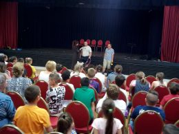 Samu Attila és Tanai Csaba interjút ad a nagyközönség előtt Szalay Krisztának