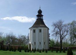 A Jákon lévő Szent Jakabról elnevezett kápolna kívülről