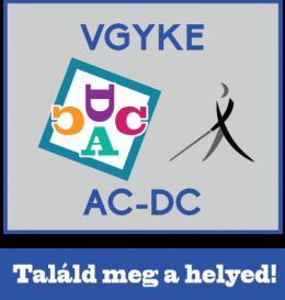 A képen az acdc program logója látható