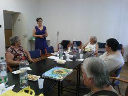 Pál Szilvia mutatja be az ACDC projektet Újpesten