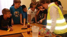 kispesti diákok szemléletformáló játékot játszanak az érzékenyítő foglalkozáson