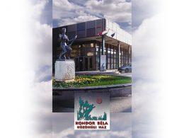 A képen a klubnap helyszíne, a Kondor Béla Közösségi Ház látható.