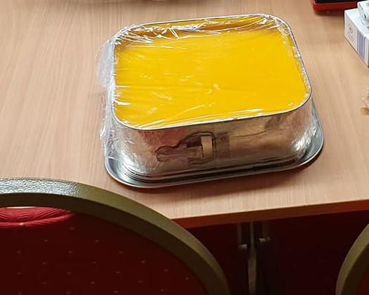 Az újpesti Lámpás Klub születésnapi tortája