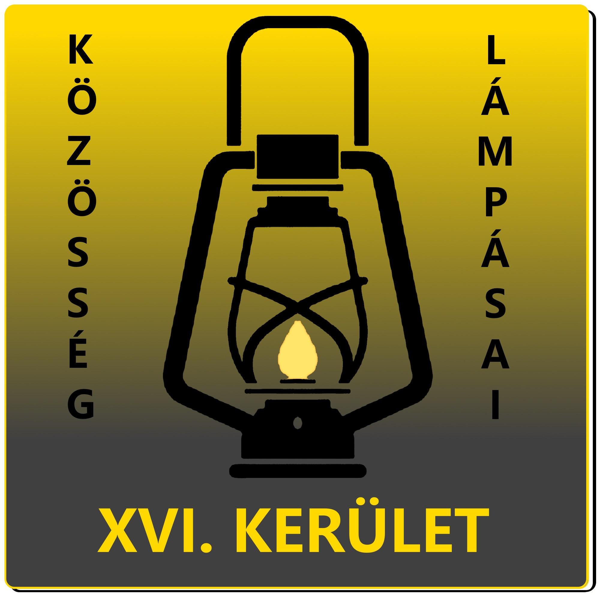 A XVI. kerületi Lámpás Klub logója