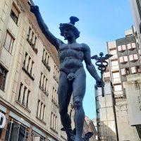 Hermész szobor